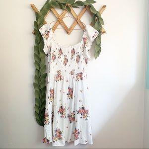 Torrid Floral Off Shoulder Dress